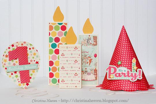 Birthday Set by Christina Heeren