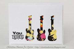 You Rock Card by christina Heeren