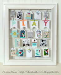 Childhood Memories Display by Christina Heeren