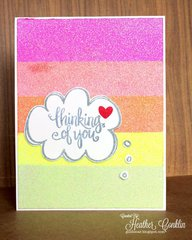 Thinking of You (Ombre stripe)