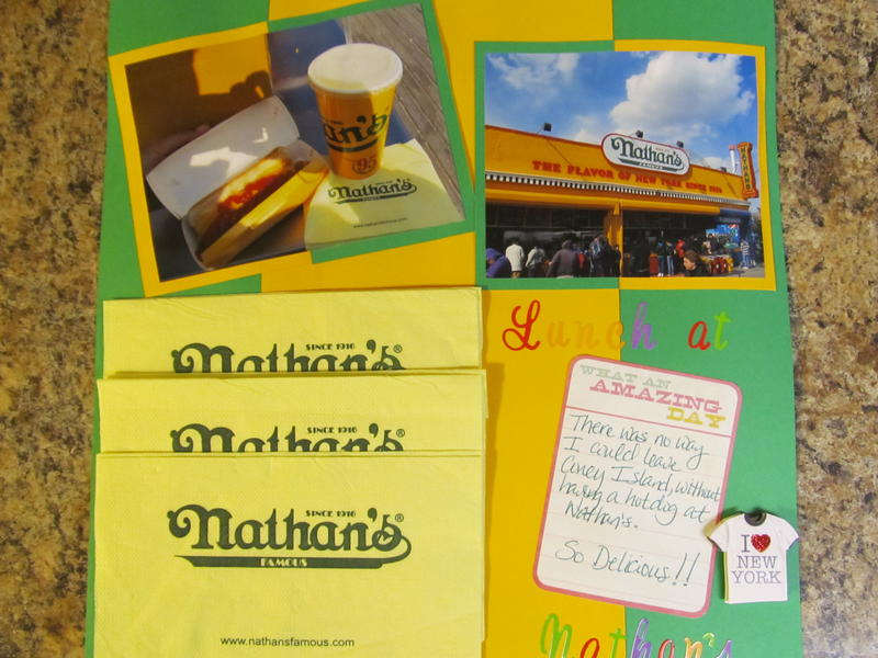Lunch at Nathan's