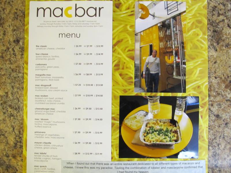 Mac bar