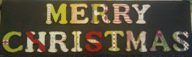 Christmas Plaque for Gift Exchange