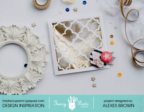 Dear Lexe Designs Window Card
