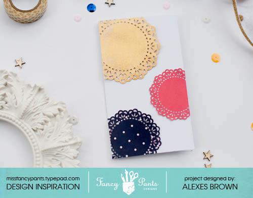 Dear Lexe Designs - Doily Card
