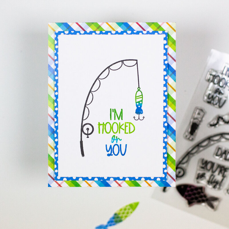 I'm Hooked On You Card