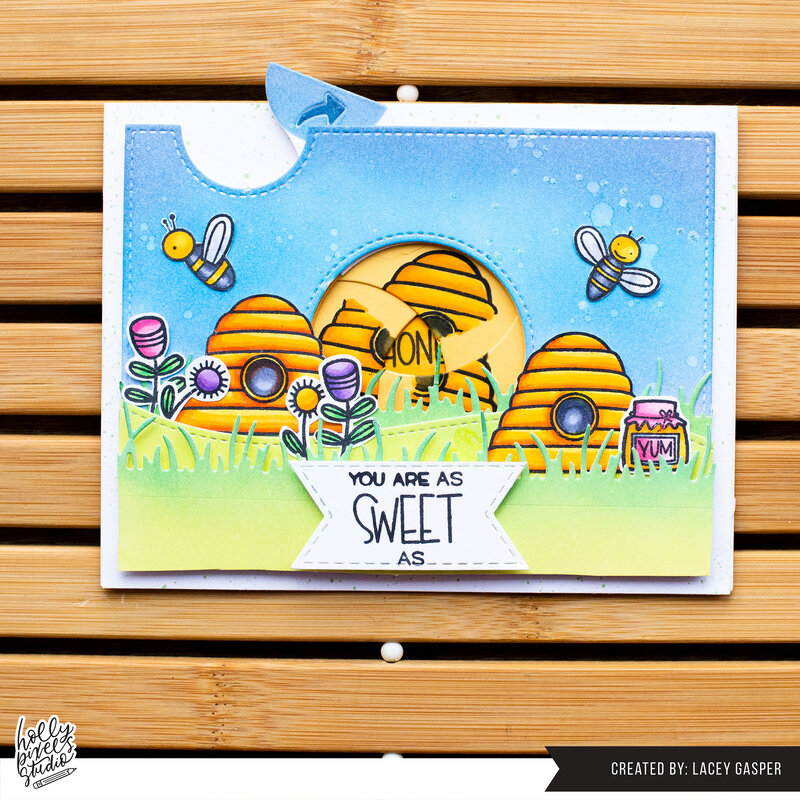 You Are Sweet as Honey - Card