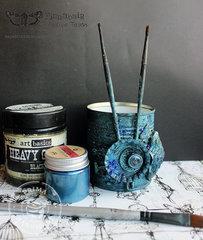 Brush jar - Finnabair Creative Team