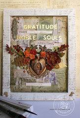 Gratitude wall decor