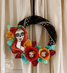 Dia de los muertos wreath - Prima Marketing