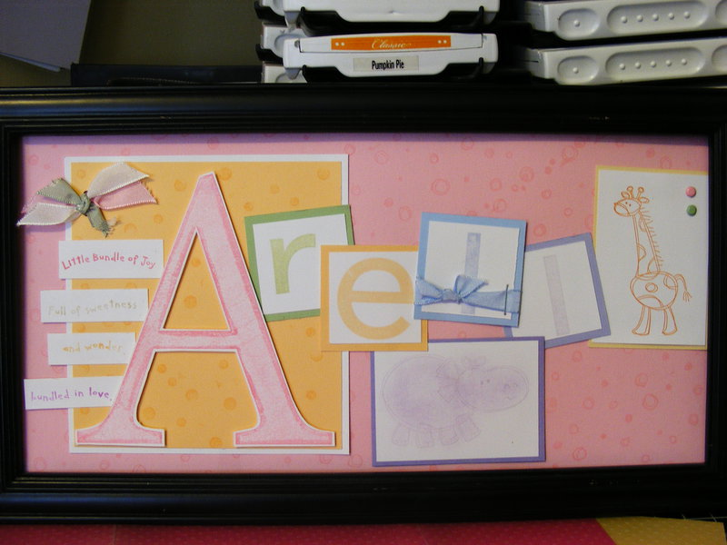 Arell Name Frame