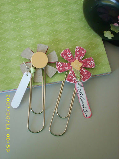 Chipboard Bookmarks