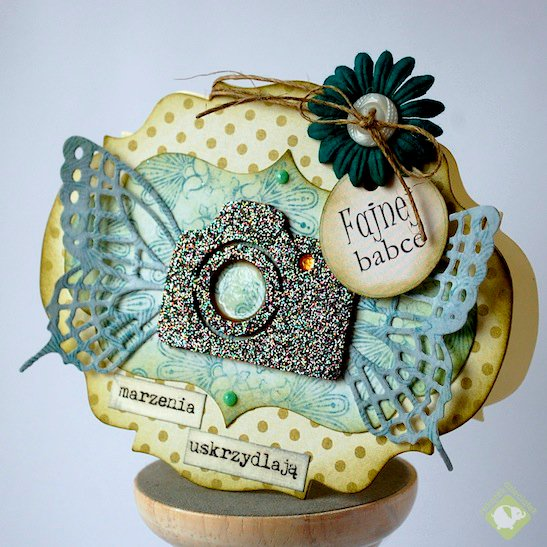 Dreams give wings - birthday card