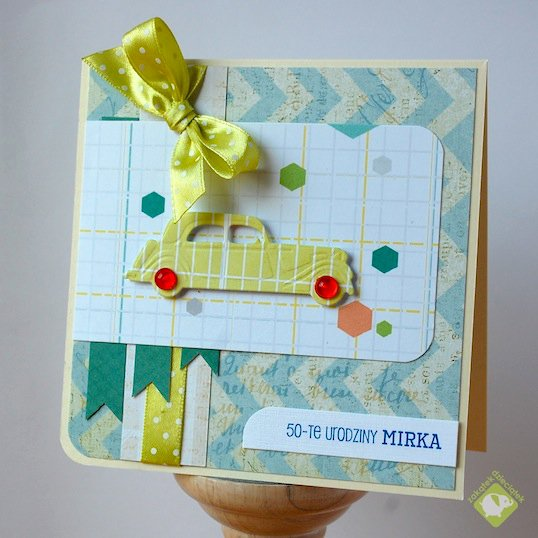 Birthday masculine card