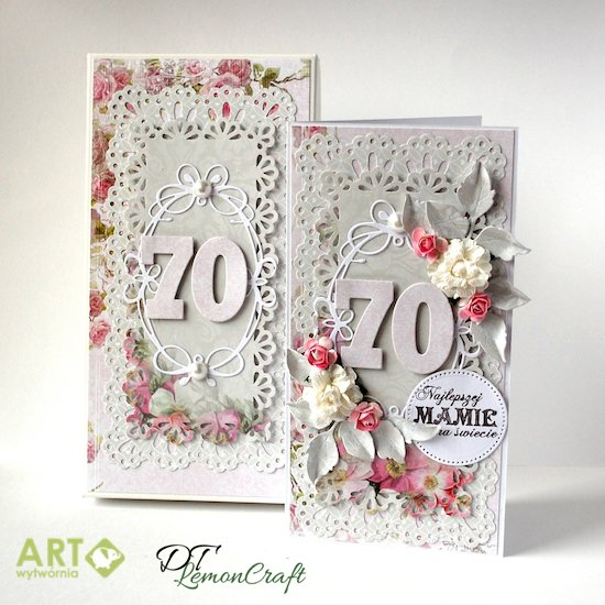 For the best mom - birthday card with matching box