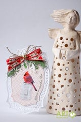 Christmas crad with ornament