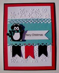 Merry Christmas Penguin