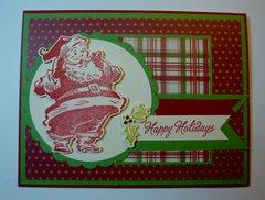 Happy Holidays Santa