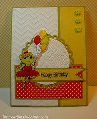 Birthday Ballerina Frog