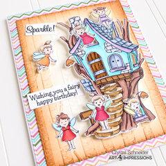 Sparkle Fairy Birthday Card