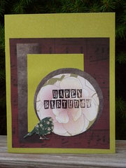 HB - October Card Sketch Challenge #5
