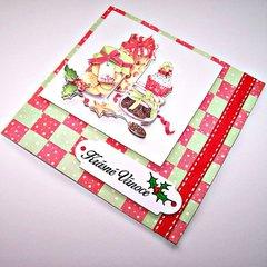 At Christmas - Xmas Card