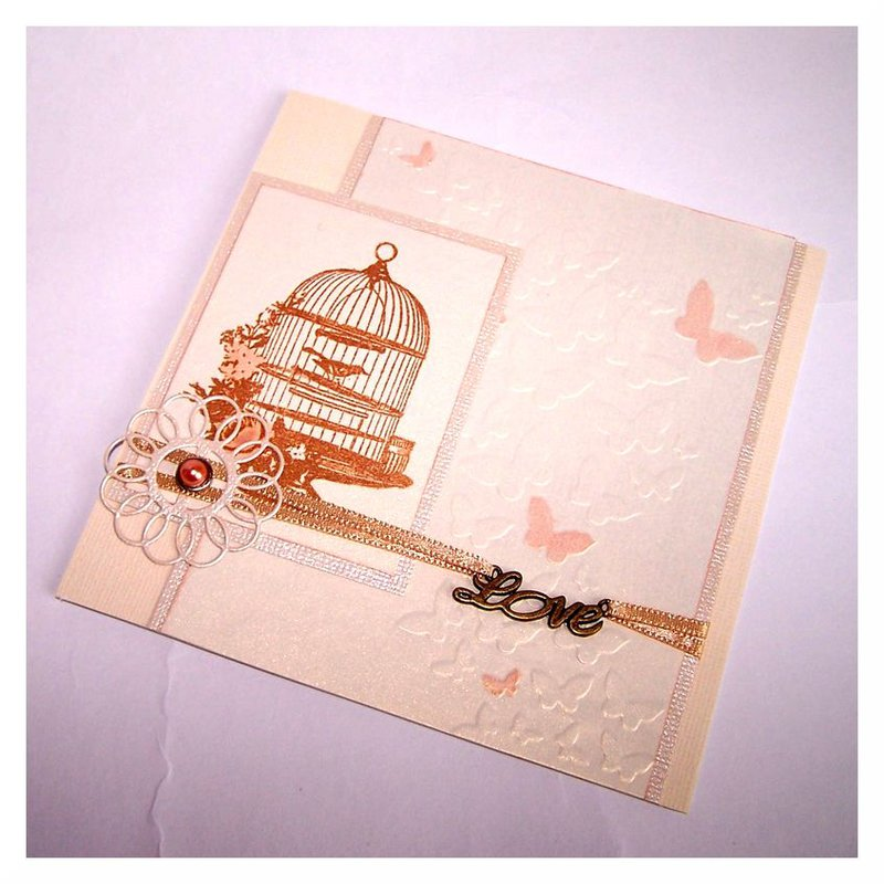 "Wedding Card ""Cage"""