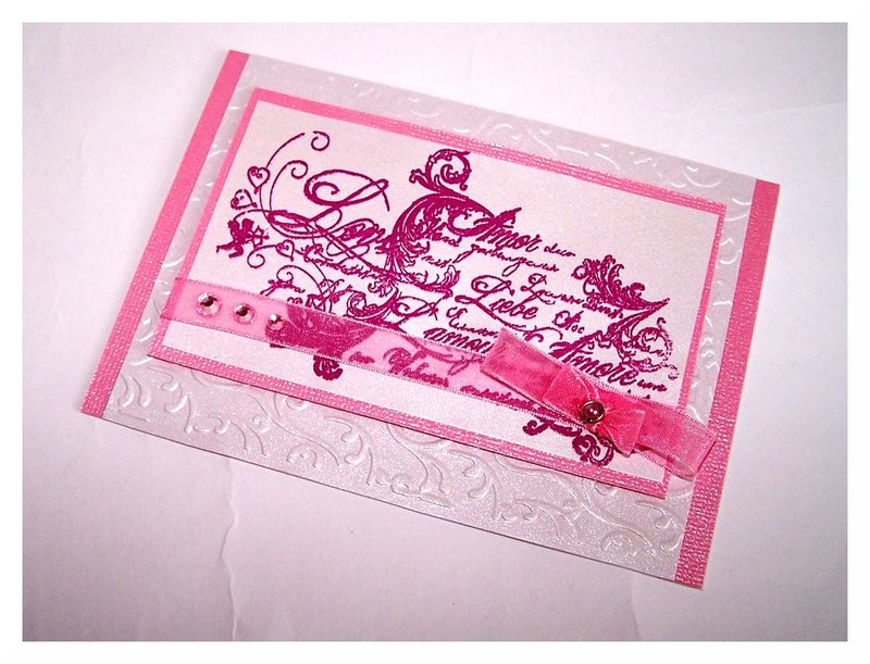 "Wedding Card ""Love"""