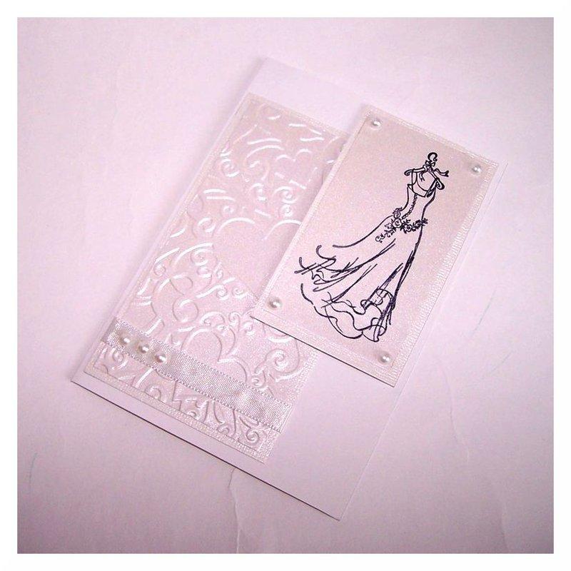 "Wedding Card ""Dress"""