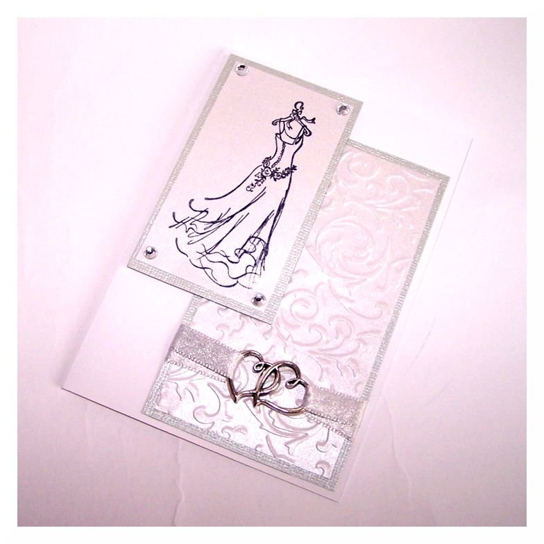 "Wedding Card ""Dress"""