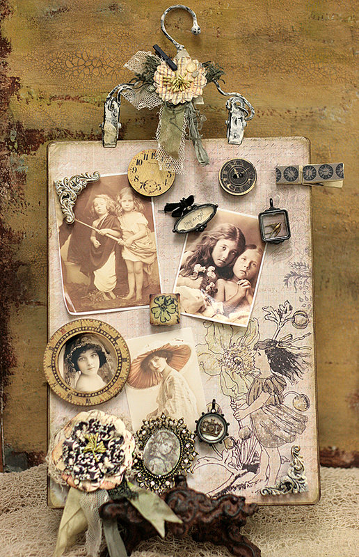 Nature Garden Magnetic Memory Board by Jodie Lee