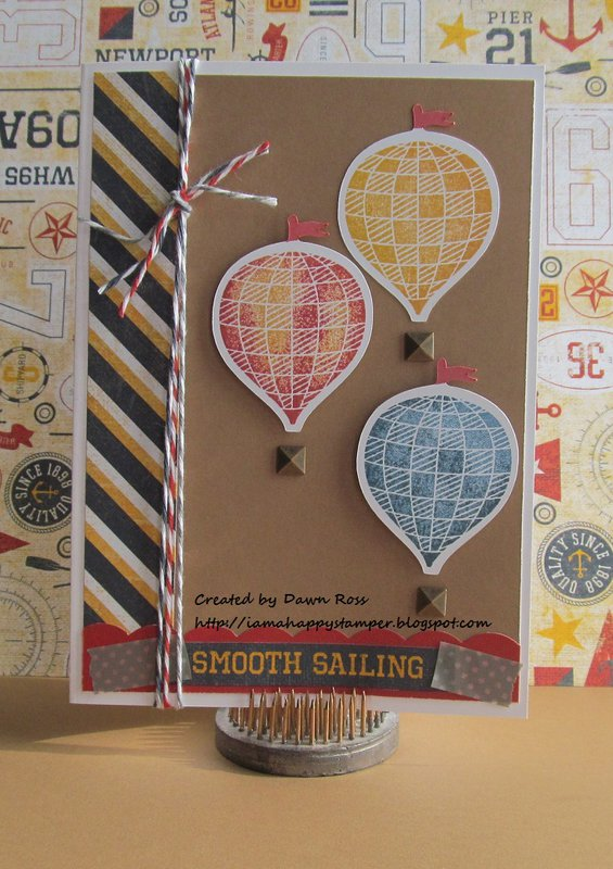 CTMH Tommy & April SOTM My Sunshine Card by Dawn Ross