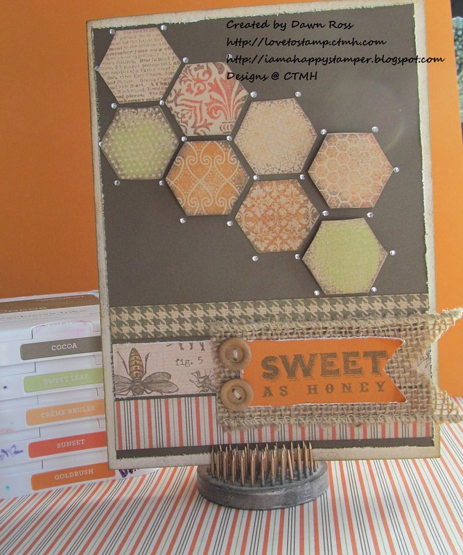 CTMH Buzz & Bumble with Honeycomb by Dawn Ross