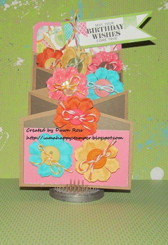 Chantilly Cascading Card by Dawn Ross