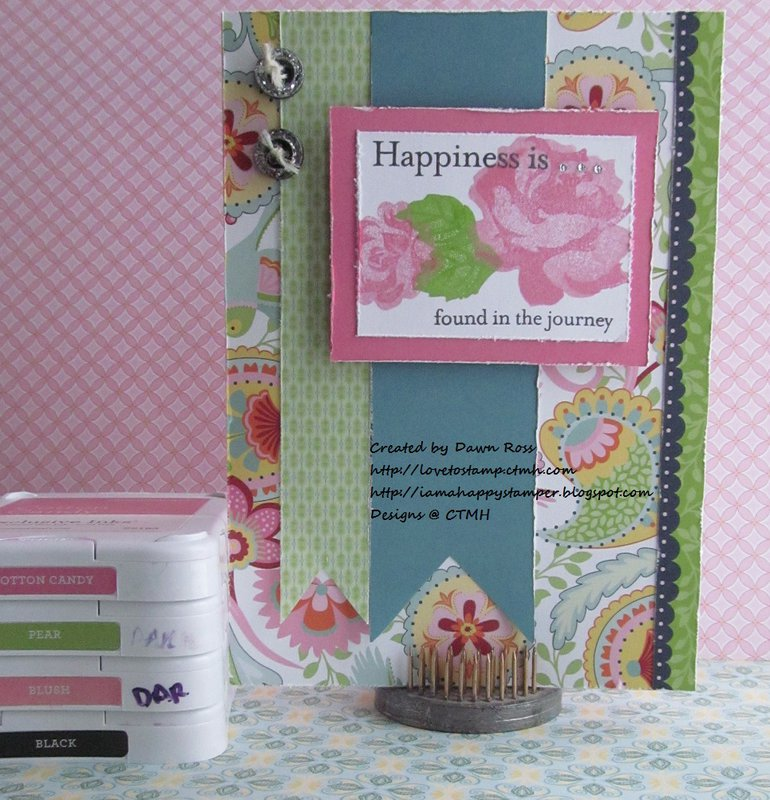 Chantilly & CTMH March SOTM Card by Dawn Ross