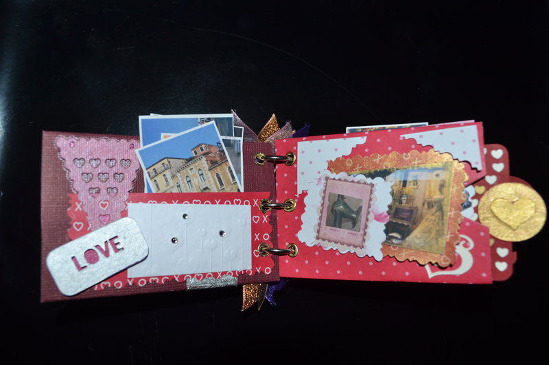 My first Mini Scrapbook