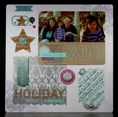2013 Holiday Card Layout