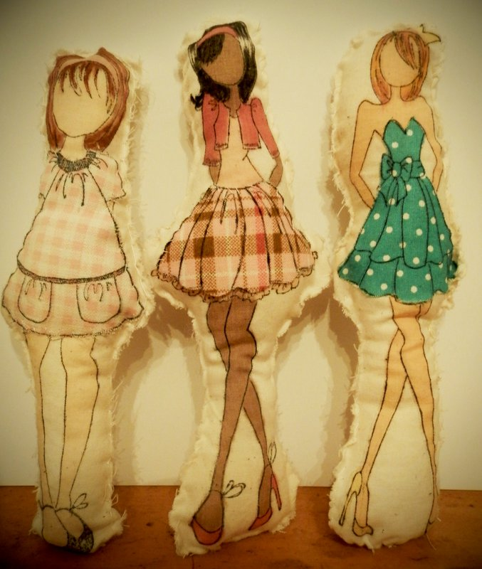 Stuffed Muslin Dolls
