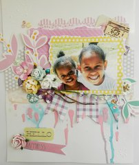 Hello Happiness A4 layout
