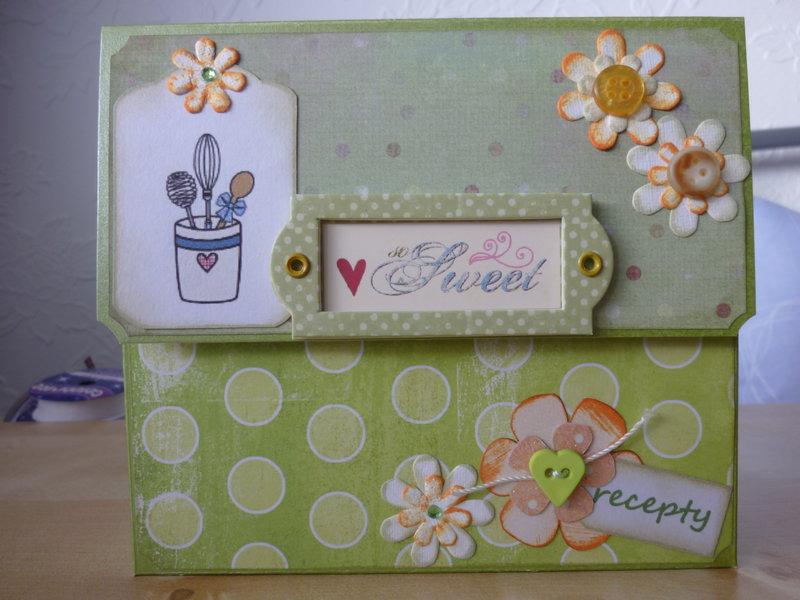 Recipe box + cards