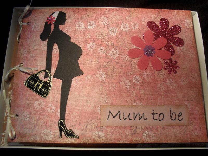 Mum to be scrapbook album