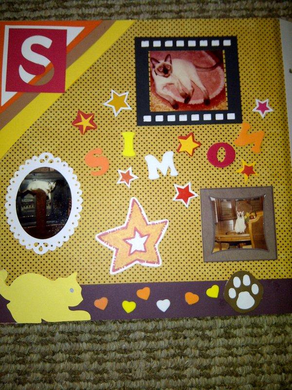 My Feline Family:  Simon, Page 1