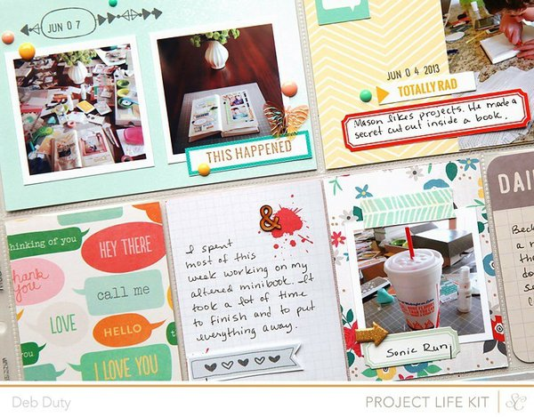 project life week 23 | studio calico kits