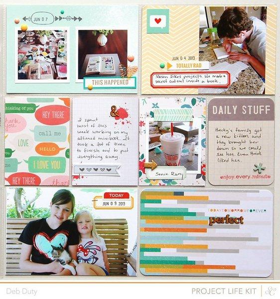 project life week 23   studio calico kits