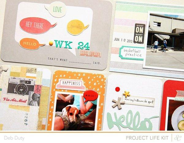 project life week 24 | studio calico kits