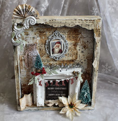 Home Decor Christmas Vintage