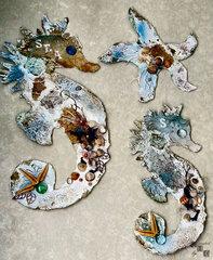 Seahorses and starfish