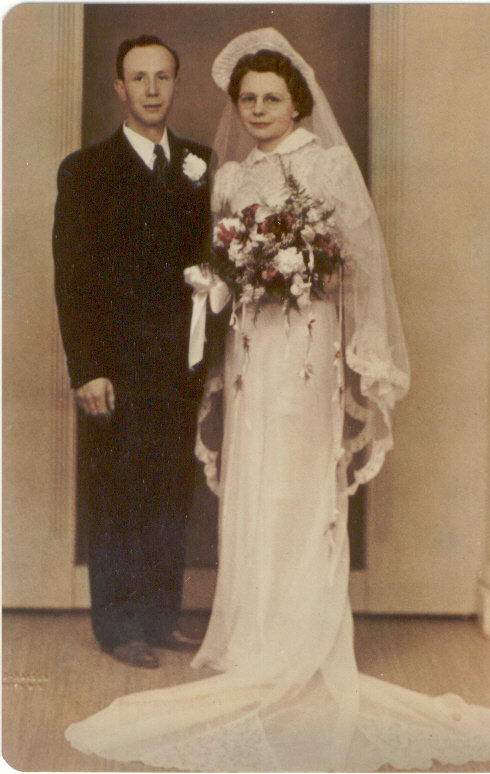 Wedding Day 4-29-1945