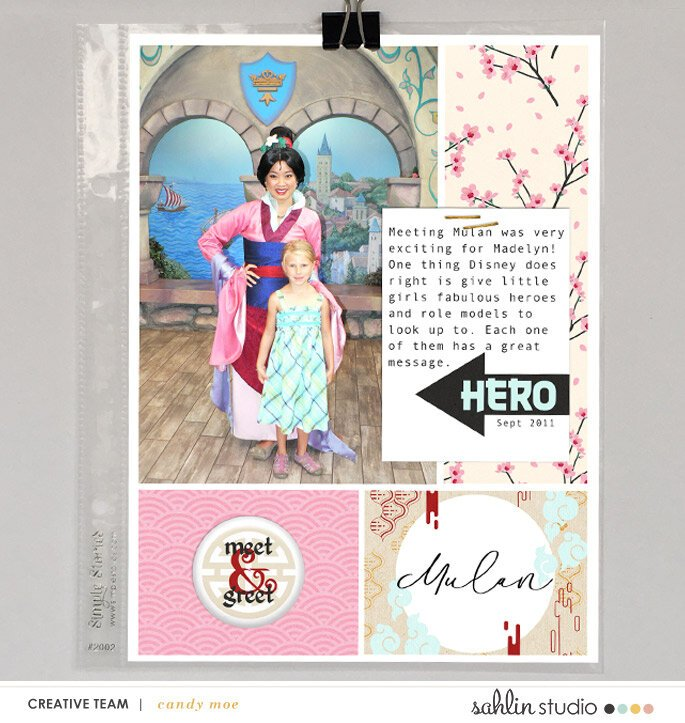 PM (Princess) Adventurous | Sahlin Studio