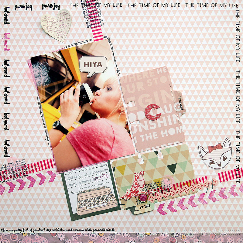 Layout Monday #12 - HIYA!
